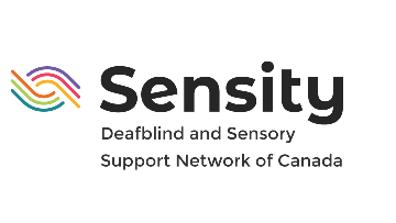 Sensity Deafblind Sensory and Support Network of Canada logo